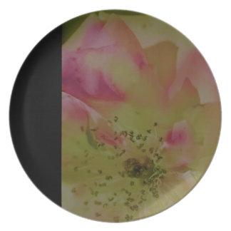 """Love in Summer"" Design by Carole Tomlinson Melamine Plate"