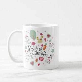 Love In The Air Classic White Mug