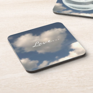 Love in the Air Drink Coaster