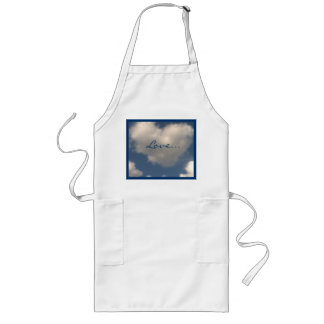Love in the Air Long Apron
