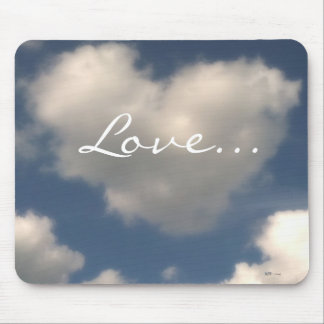 Love in the Air Mouse Pad