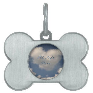 Love in the Air Pet Tag