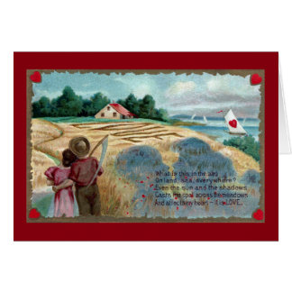 Love in the Hay Card