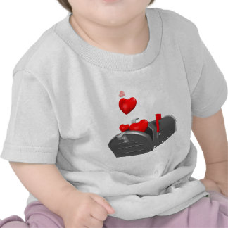 Love In The Mail T-shirts