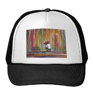 Love in the Rain Mesh Hats