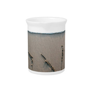 Love In The Sand Beverage Pitcher
