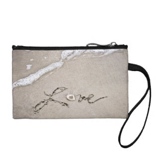 Love in the Sand Coin Wallet