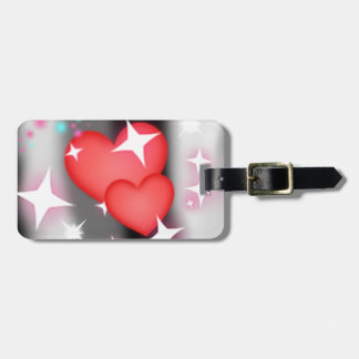 Love in the sky luggage tag