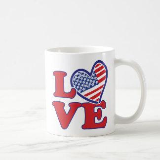 Love in the USA Coffee Mug