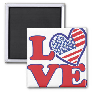 Love in the USA Magnets