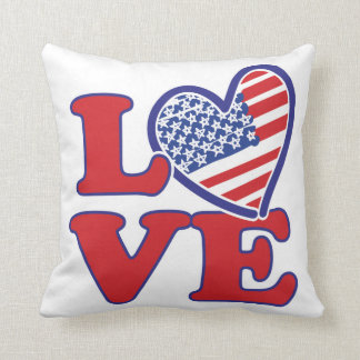Love in the USA Pillows
