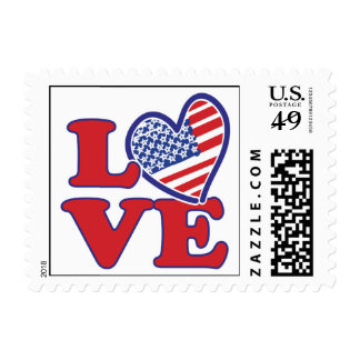 Love in the USA Stamps