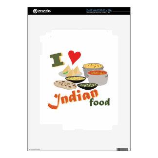 Love Indian Food iPad 2 Skins