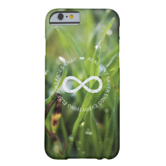Love Infinity dew drop grass Barely There iPhone 6 Case