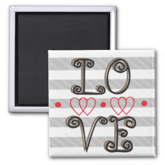 Love Infinity Times Infinity Magnet