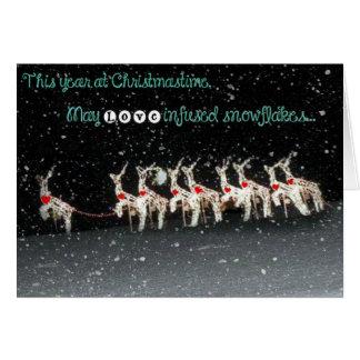 Love Infused Snowflakes Card