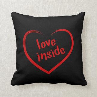 Love Inside Throw Pillow