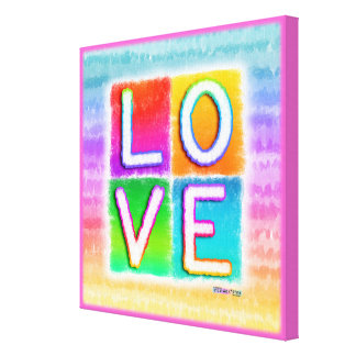LOVE INSPIRATIOINAL Gallery Wrapped Canvas