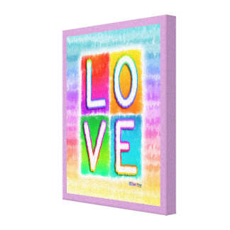 LOVE INSPIRATIONAL Gallery Wrapped Canvas