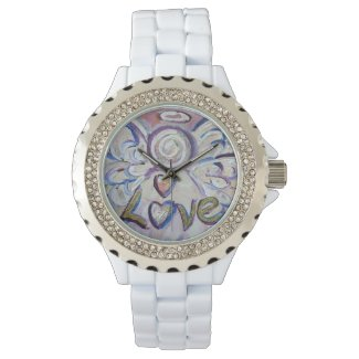 Love Inspirational Guardian Angel Wrist Watch
