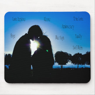 Love Inspires, Hugs... Mouse Pad