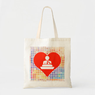Love Intelligence Budget Tote Bag