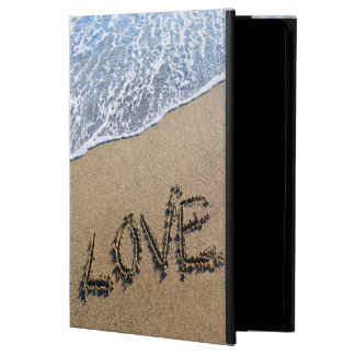 Love into the sand written Powis iCase iPad iPad Air Cover