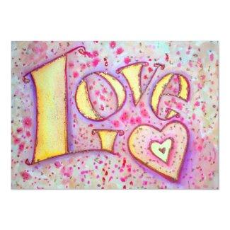Love Invites, Invitations, or Announcements