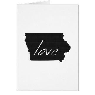 Love Iowa Card