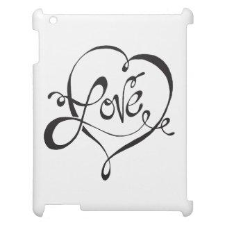 """Love"" iPad Case"