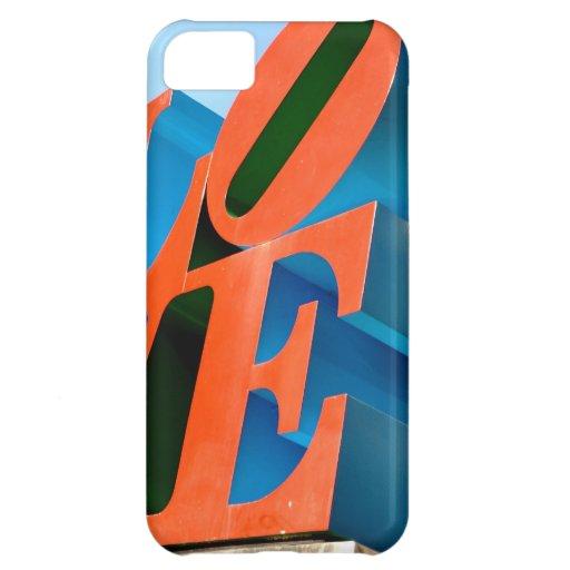 LOVE iPhone 5C COVER