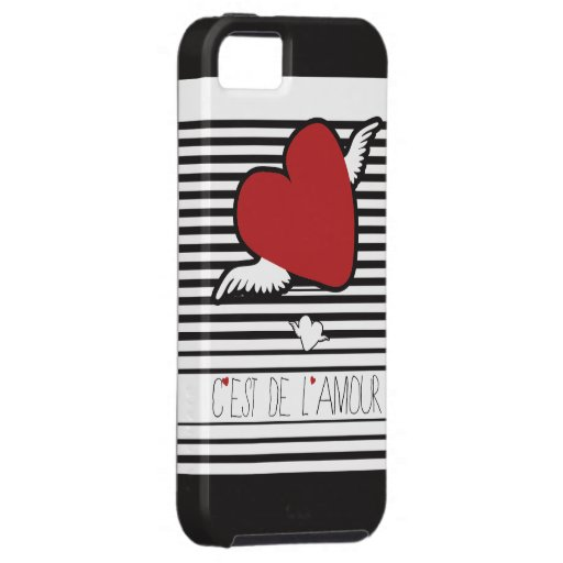 Love iPhone case French style iPhone 5 Cases