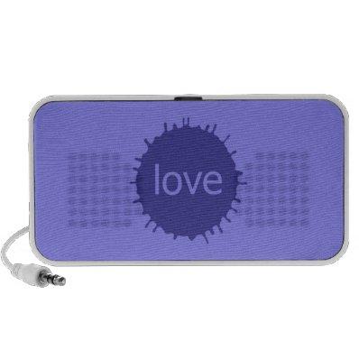 loVe iPod Speakers