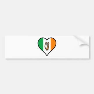 Love Ireland Bumper Sticker