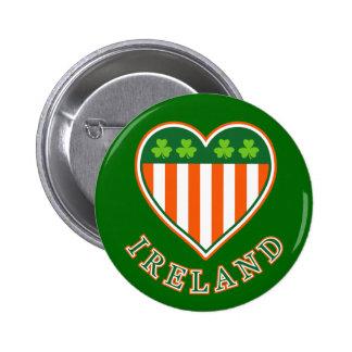 Love Ireland Button