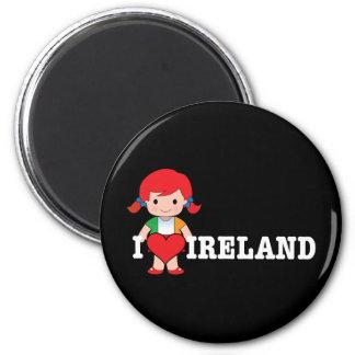 Love Ireland Magnet