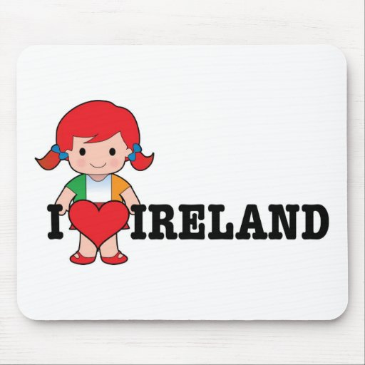 Love Ireland Mouse Pads