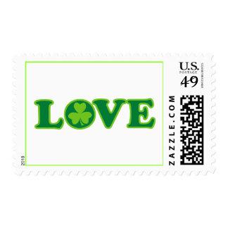 Love Ireland Postage Stamp