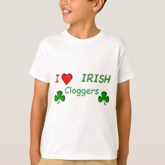 Love Irish Clogger T-Shirt