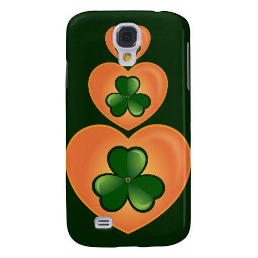 Love Irish Clovers - 3 Samsung Galaxy S4 Cases