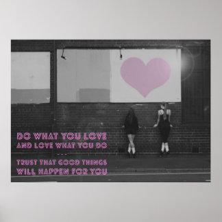 Love Irish Dance Poster - Do What You Love