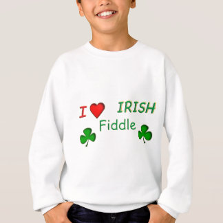 Love Irish Fiddle Sweatshirt