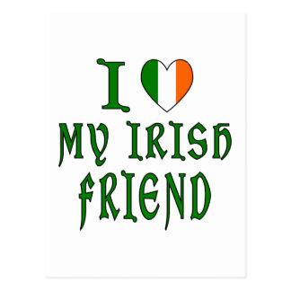 Love Irish Friend Post Cards