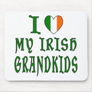 Love Irish Grandkids Mousepad