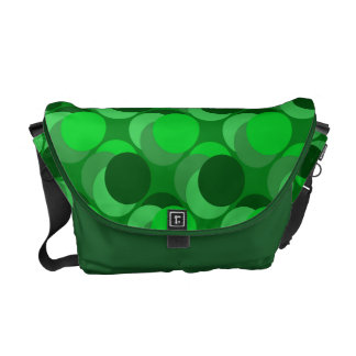 Love Irish Green Messenger Bag