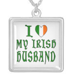 Love Irish Husband Necklace