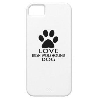 LOVE IRISH WOLFHOUND DOG DESIGNS iPhone SE/5/5s CASE
