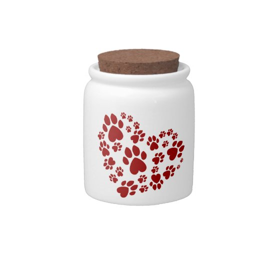 Love is a 4-letter word candy jar