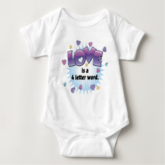 Love is a 4 Letter Word Tee Shirt