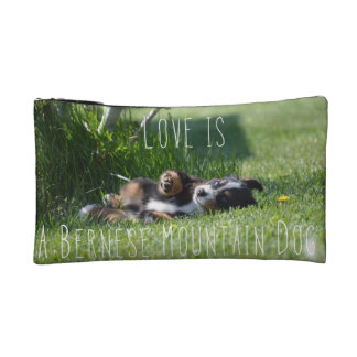 Love Is a Berner Bag Cosmetic Bags